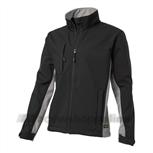 soft shell jack bi-color Tj-2000 zwart/grijs L