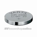Knoopcel Lithium 3V Cr2032 Varta