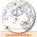 Paslode beschermkapje voet iM250/iM65(A) 900702
