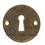 Sleutelplaatje Cali schroefmodel antiek