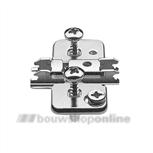 Blum Kruismontageplaat verdikking 0 mm voorgemonteerd 174H7100E