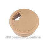 Berma kabeldoorvoer kunststof 60 mm beige