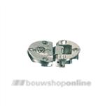 Bosch klepscharnier vernikkeld staal diameter 35 mm klapscharnier