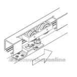 hawa schuifdeur onderdelen junior 120a 14860 zonder rail
