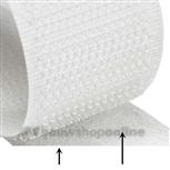 zelfkl. klit.lusband 20mm wit ZLR20.25