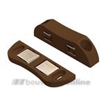 Dulimex magneetsnapper; kracht 6 kg DX-MC 9602B bruin
