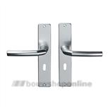 Hoppe 1117/202sp2 deurkruk op schild met sleutelgat 56 mm F-1