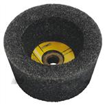 Flexovit komslijpsteen voor beton 110x95x22.2 c60 middelfijn