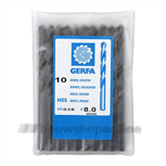 GERFA Metaalboor Hss 2.8 mm DIN 338 RN