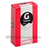 NOVUS nieten [5000x] 6 mm 1/4 inch G-11