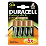 Duracell mignon-penlite [4x] 1.2Voplaadbaar HR6AA