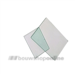 Primaelux glasplaat voor bouwlamp 213x163 mm PrimaeluxDLX