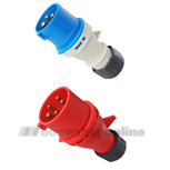 ABL CEE-contactstop 3p. 16A-230Vblauw s31sl20