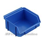 Trend stapelbak kunststof 160 x 95 x 75 mm b2 blauw