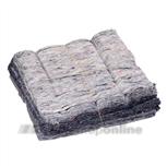 Poetsdoekenfabriek poetsdoeken (50 x) uni-gestikt 1270