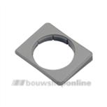 HMB schuine plaat grijs voor sluitpot 600676