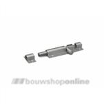 dulimex profielgrendel aluminium 25x100 mm dx-drg 402100sa