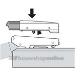 Blum opzetdeel Blumotion voor 170 graden 0-insprong 973A6000