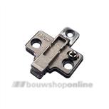 Blum Kruismontageplaat 0 mm zonder systeem schroef 175H9100