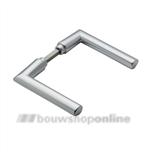 HOPPE 1140 deurkrukken >54< mm Stockholm 2860944 aluminium F-1