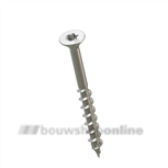 HECO Topix schroef (a2) platkop 6.0x120 mm [100] Torx-25