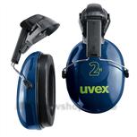 Uvex gehoorbescherming 2H schelpen 2500.021 blauw