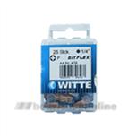 Witte bitsen Bitflex [25x] pozidriv 1 25 mm 14 inch 428045
