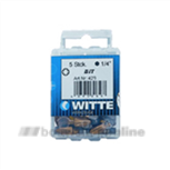 Witte bitsen Torx [5x] T10 25 mm 14 inch 429503