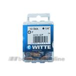 Witte bitsen tin [10x] pozidriv 3 25 mm 14 inch 427347