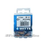 Witte bitsen 5x Bitflex tin pozidriv 1 25 mm 14 inch 428445