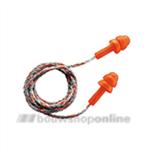 Uvex oorplugs Whisper oranje met koord 2111.201