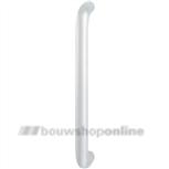 Hoppe aluminium greep enkelgebogen 350 x 25 mm F-1