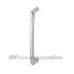 Hoppe aluminium greep enkelgebogen Marseille Hoppe F-1 5710-300