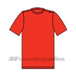 Sibex T-shirt korte mouwen rood 30.015 XXL