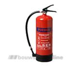 ABC brandblusser met meter 6 kg poeder