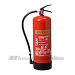 ABC brandblusser met meter 9 kg schuim