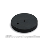 Dulimex deurstopper verhoging 12 mm rubber