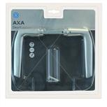 AXA 6170-10-91/B deurkrukken duimmodel aluminium F-1