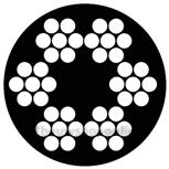 Pashook staaldraad waslijn PVC mantel (25m) SKP23025