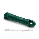 Pashook staaldraad waslijn groene mantel (30m) SKW 0430