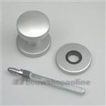 AMI voordeurknop aluminium F-1 50 mm 169/50 mat Archi-design