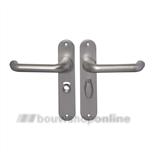 AMI 200/1/7 386 Rotaveer deurkruk op schild 63/8 mm + stift 8 x 100 F-1
