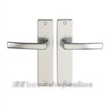 Destil 107ML deurkruk op schild zonder sleutelgat F-1