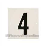 Besbo Huisnummerplaat 4