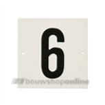 Besbo Huisnummerplaat 6