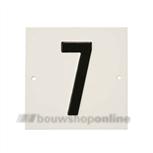 Besbo Huisnummerplaat 7