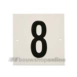Besbo Huisnummerplaat 8