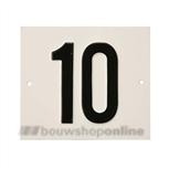 Besbo Huisnummerplaat 10