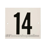 Besbo Huisnummerplaat 14