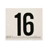 Besbo Huisnummerplaat 16